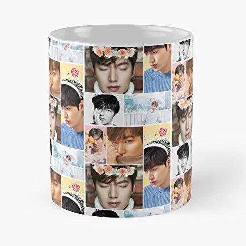 Idol Actor Ho Lee Handsome Cute Min Korean Drama Best Mug holds hand 11oz made from marble ceramic