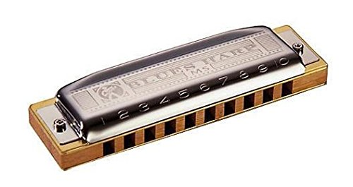 Hohner M533016 - Armónica en Do Mayor (acero inoxidable),