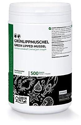 GreenPet Hund, Katze & Pferde - muschelextrakt für Hunde, grünlippmuschel Hund Pulver, grünlippmuschel Pulver, grünlippenmuschel Hund, grünlippenmuschel, grünmuschelextrakt für Hunde