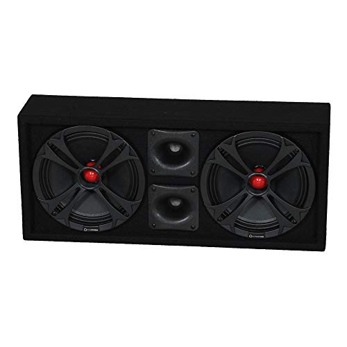 Q Power Chuchero Dual Pre Loaded 10 Inch Speaker Sub