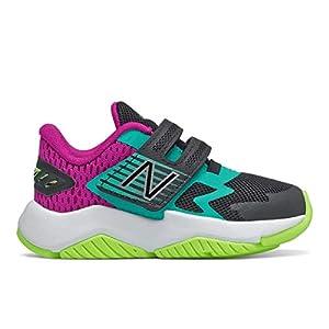 New Balance Unisex-Child Rave Run V1 Hook and Loop Shoe