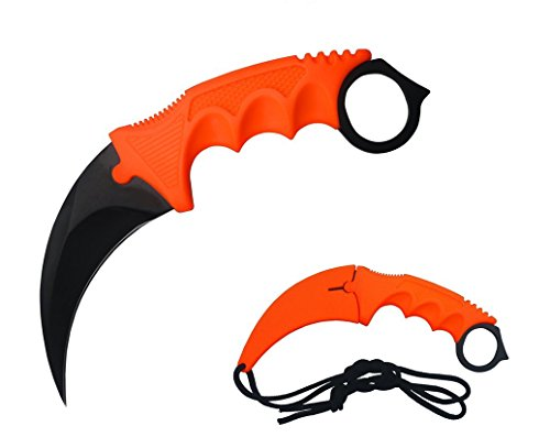 DevilFish New Hawkbill Karambit Neck Knife