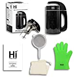 Hi® Herbal Infuser® - New 2021 Model Countertop Botanical Extractor Butter, Oil & Tincture Infusion Machine - Measuring Cup, Glove, Strainer, Organic Herb Filter & Recipe Book Included (Package)