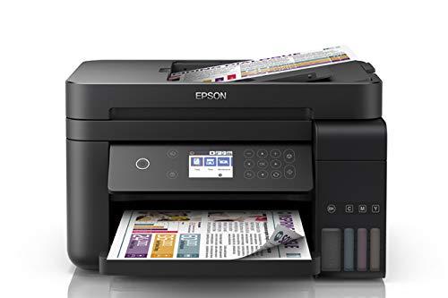 Epson Multifuncional Ecotank L6171, tanque de tinta a color para Negocio con ADF, Wi-Fi Direct – Ethernet