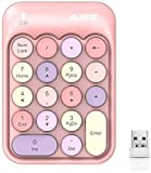 Tastiera Numerica, Tastiera Numerica Wireless Tastierino Numerico in con 18 Tasti Tastiera...