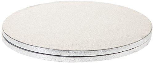 Decora 0931246 CF 2 CAKEBOARD RUND Silver Ø 33 cm