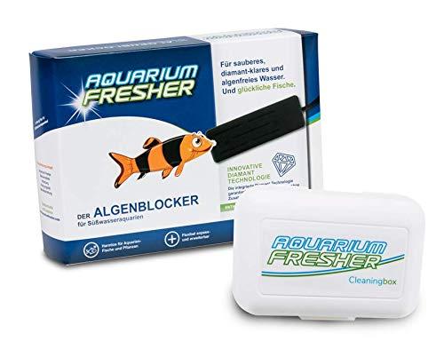 AquariumFresher für Aquarien bis 500L inkl. Cleaningbox | Vorteilspack | bekämpft Algen | Algenvernichter & Algenentferner