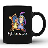 Best friends Tigger and Eeyore Mug, Merry Christmas Mug