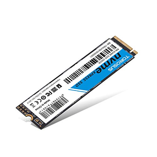 TOROSUS 256 GB SSD NVMe PCle Express M.2 2280 GEN3.0x4 Interne SSD Hochleistungs-Solid-State-Laufwerk