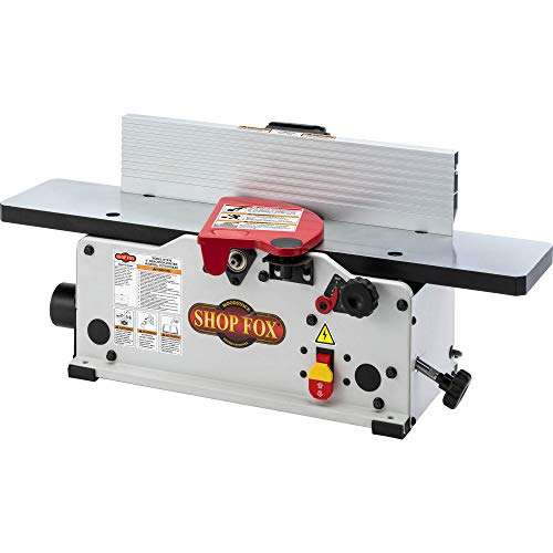 "Shop Fox W1876 6"" Benchtop Jointer with Spiral-Style Cutterhead"