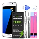 Galaxy S7 Battery,[Upgraded] 3600mAh Li-Polymer EB-BG930ABE Replacement Battery for Galaxy S7 G930 G930V G930A G930T G930P G920V with Screwdriver Tool Kit [18 Month Warranty]