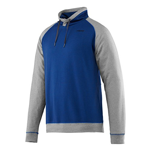Head Hombre Oberbekleidung Transition T4S Sudadera Camiseta, Hombre, Transition T4S Sweat Shirt Men, Azul