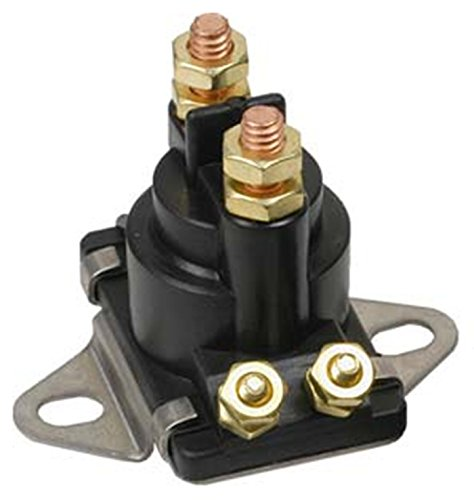 Rareelectrical NEW 12V SOLENOID COMPATIBLE WITH MERCURY MARINER OUTBOARD MOTORS 89-818864T 89-846070 89-94318 89-96158 89-96158T 89818864T 89846070 8994318 8996158 8996158T