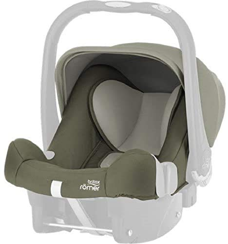 Britax Römer baby-safe Plus SHR II Bezug olive green