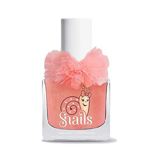 Snails Kinder Nagellack in 30 Farben wasserlöslich parabenfrei (Ballerina (apricot))