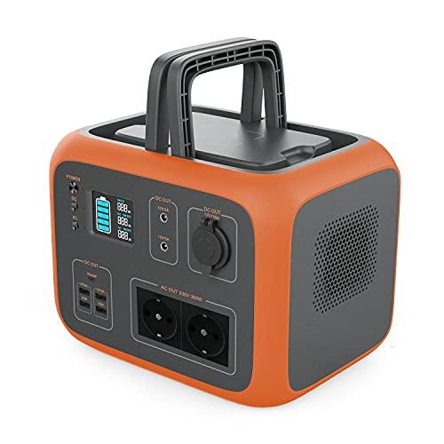 PowerOak Bluetti AC50S 500Wh Générateur Solaire Portable avec Onduleur 300W et Prises AC/DC/USB...