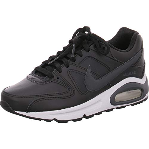 Nike Herren Air Max Command Leather Shoe Laufschuhe, Mehrfarbig (Black/Anthracite/Neutral Grey 001), 38.5 EU