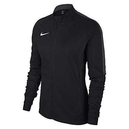 Nike W NK Dry Acdmy18 Trk Jkt K Sport jacket, Mujer, Black/ Anthracite/ White, S