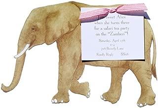 Elephant Die-cut Card, Pack of 10