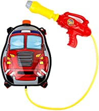 Toysery Fire Truck Backpack Water Gun   Super Cute Design   Fun Time Vacation   Safe and Durable   Great for Outdoor Play   Ultimate Fun for Kids   Ideal for Gift