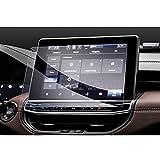 GAFAT Protector de pantalla J*eep Compass 2021 de 10,1 pulgadas, protector de pantalla de cristal blindado para coche GPS 9H antiarañazos