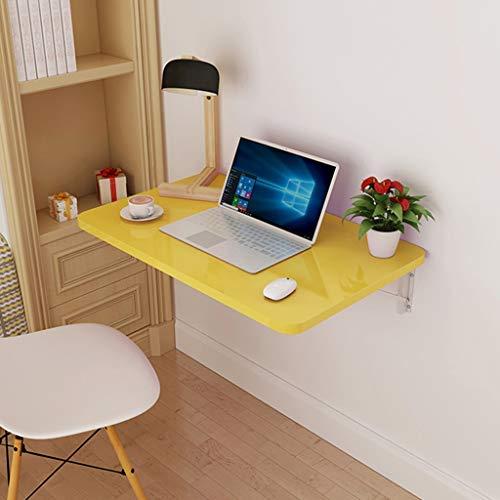 HAOT Organizador del Espacio de Trabajo Mesa Plegable, Mesa montada en la Pared Cocina Mesas de Comedor de Madera Cocina Computadora de usos múltiples Computadora portátil Escritorio Ahorro de es