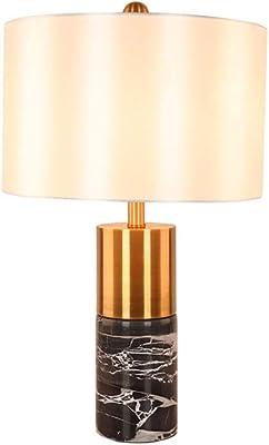 Lámpara de sobremesa en mármol natural bicolor modelo Jaen (Mármol ...