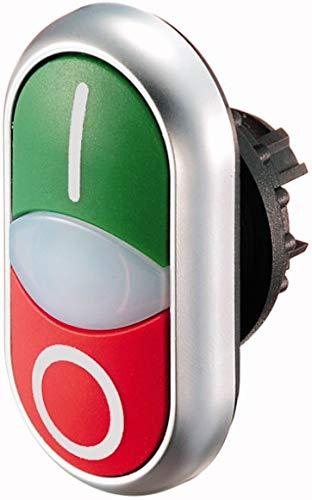 Eaton M22-DDL-GR-X1/X0 Doppeldrucktaster Grün, Rot 1 St.