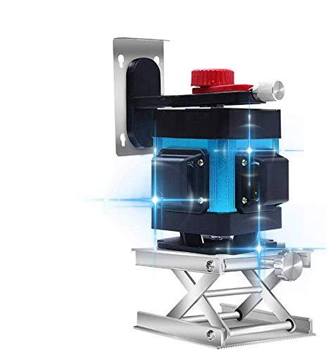 Niveles Láser 3D De Luz Azul 12 Línea Autonivelante Medidor De Nivel De Alta Precisión A Prueba De Agua Plana Deslumbramiento De La Baldosa Del Instrumento De Nivelación A Ras Del Suelo Inteligentes