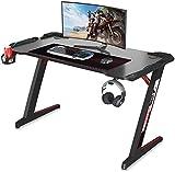 Dripex Gaming Tisch 113 cm Gaming Schreibtisch Gaming Computertisch PC...