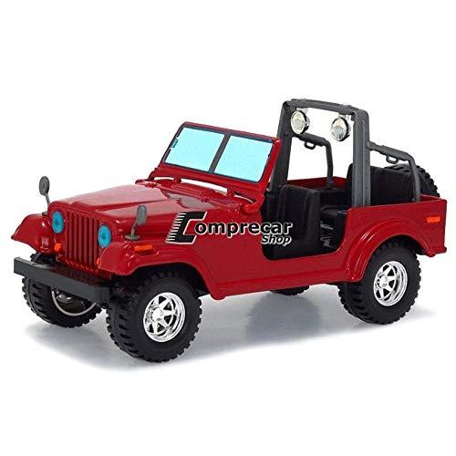 BBurago - 22033 - Voiture sans pile - Reproduction - Jeep Wrangler - échelle 1/24