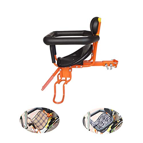 DS-Wang Outdoor Sports Bicycle Safety Carrier Cushion for Baby Friendly Front Mountain Bike Chair for Kids Children Bike Seat Safe Secure Bicycle