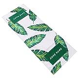 SOLUSTRE Copertura Antipolvere per Forno a Microonde Copertura per Tostapane Asciugamano per Microonde Panno Protettivo per Forno Decorativo (Motivo a Foglie)