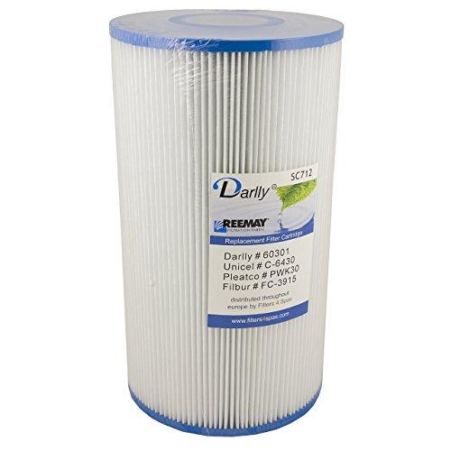 Darlly® Filter Ersatzfilter SC712 Lamellenfilter Hot Springs Hydropool
