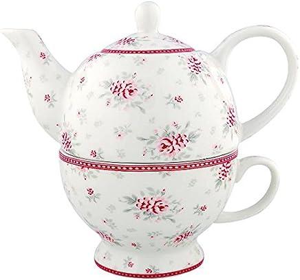 Preisvergleich für GreenGate Tea for one - Flora white