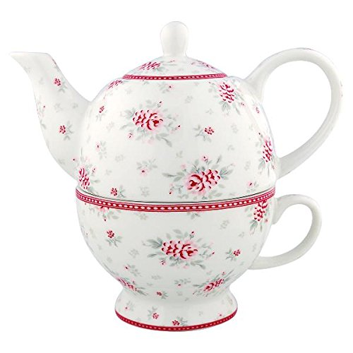 GreenGate Tea for one - Flora white