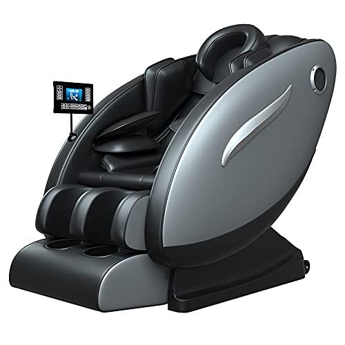 Silla de masaje inteligente de lujo totalmente automática pantalla LCD Multiusos Multiusos Masaje Sofá Espacio Comercial Cápsula Silla Eléctrica