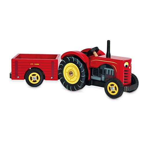 Le Toy Van - 12468 - Jouet Premier Age - Le Tracteur de Bertie