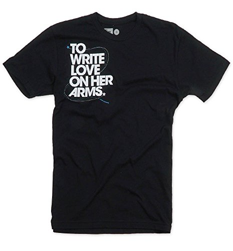To Write Love On Her Arms Title T-Shirt, Black - Mens - Small