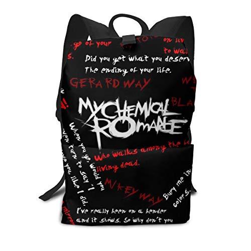 バックパック マイ・ケミカル・ロマンス My Chemicao Ramance リュックサック 男女兼用 登山 通学 大容量 個性的デザイン バッグ メンズ