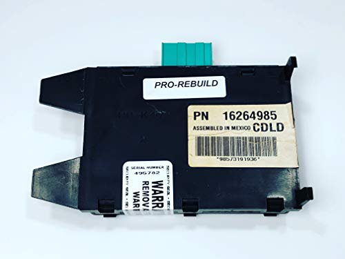 16264985 GM Passlock Chevy Express GMC Savanna 1500 2500 3500 Cargo Van Anti-Theft Vats Security Module REBUILT