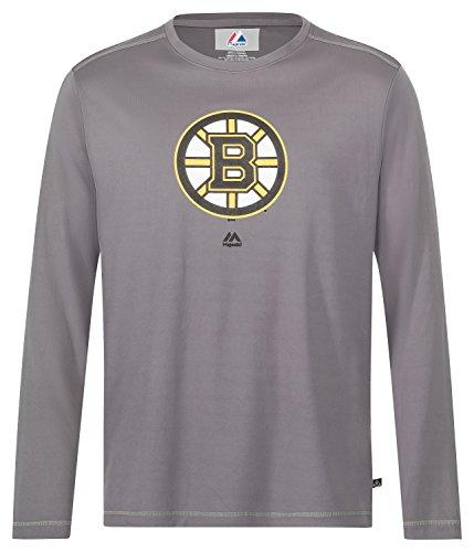 NHL Shirt Boston Bruins Langarm Longsleeve Cool Base (M)