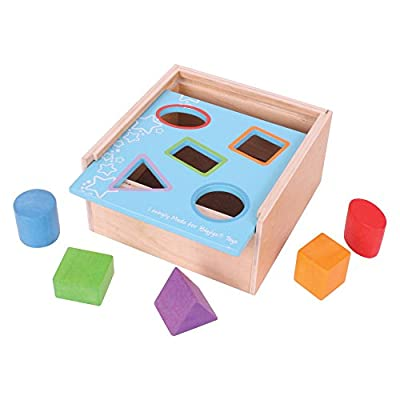 Bigjigs Toys First Posting Box