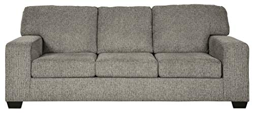 Signature Design by Ashley - Termoli Contemporary Plush Sofa, Gray