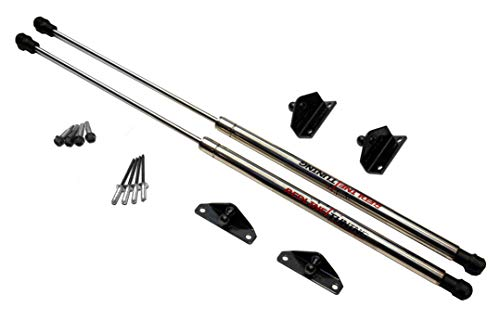 Redline Tuning 21-27010-03 Hood QuickLIFT ELITE System (Stainless Steel Struts, 5 year warranty) Compatible for Toyota Tacoma 2005-2015