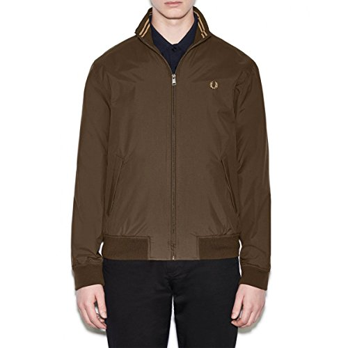 Fred Perry Mens Green Zip Jacket S