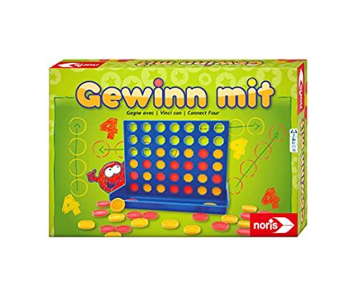 Noris 606049104 606049104-Gewinn mit, Kinderspiel