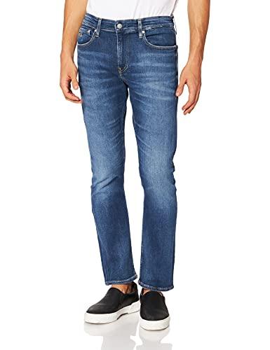 Calvin Klein Ckj 026 Slim Jeans, Mid Blu, 34W / 32L Uomo