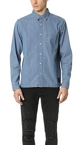 Cheap Monday Camicia Uomo Strict Blue (S)