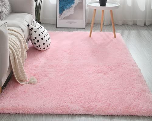 Tappeto a pelo lungo, tappeto soffice a pelo lungo super morbido antiscivolo, per soggiorno, camera...